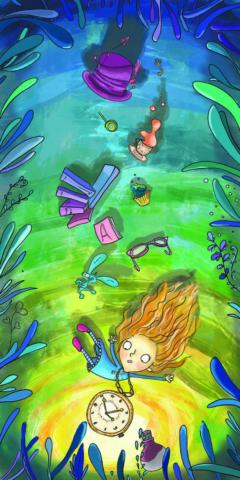 interpretation of Alice in wonderland